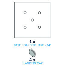CakeFrame Base carrée -35cm- pcs/5