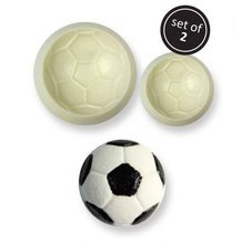 2 découpoirs tampons 3D Pop It® Footbal